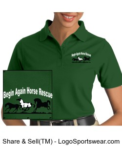 Ladies professional polo Design Zoom